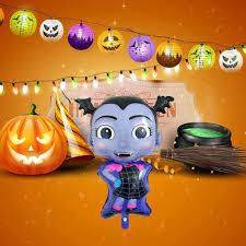 Globo De Pelicula De Aluminio Para Chica Vampiro De Halloween Fiesta De Cumpleanos Aliexpress