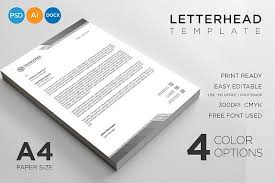 letterhead template 275086 resume
