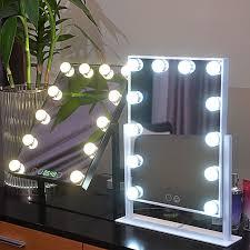 12 bulbs big hollywood makeup mirror
