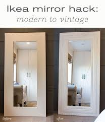 best diy floor mirror tutorials diy