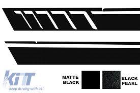 Side Decals Sticker Vinyl Black Suitable For Mercedes G Class W463 1989 2017 Black Pearl A Design Carpartstuning Com