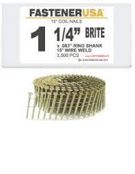 15 degree wire coil nails fastener usa