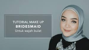 tutorial makeup bridesmaid untuk wajah