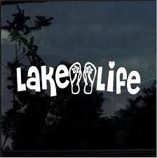 Car Decal Laptop Decal Life Is Better At The Lake Vinyl Sticker Decal Stickers