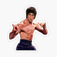 Bruce Lee Stickers Redbubble