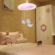 Bestoyard Baby Nursery Ceiling Mobile Crib Mobile Clouds Moon Stars Ceiling Hanging Decorations Kids Room Baby