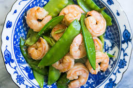 Shrimp with Snow Peas Recipe ...