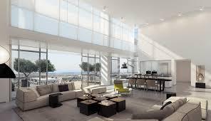 4 retractable glass doors living room
