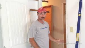 remove install an interior door