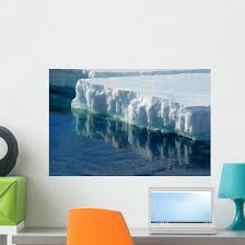 Reflecting Ice Floe Wall Decal Wallmonkeys Com