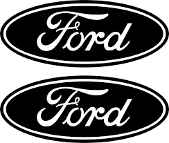 Amazon Com Boston Decal Works 2 Black Emblem Decals Stickers That Fit Ford 04 11 Ranger F150 F250 F350 4x4 Automotive