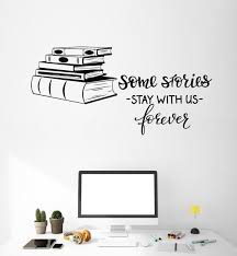 Vinyl Wall Decal Books Shop Quote Library Reading Room Decor Art Stickers Mural Unique Gift Ig5091 Reading Room Decor Book Wall Wall Quotes Decals