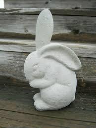 rabbit statue large concrete rabbit