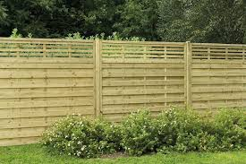 1 8m X 1 8m Pressure Treated Decorative Kyoto Fence Panel Forest Garden