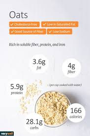 steel cut oats nutrition facts