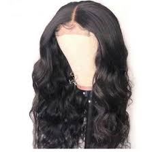 4x4 lace closure wig body wave 1b