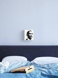 President Barack Obama Graphic Design Canvas Print By Sbaldesco Redbubble