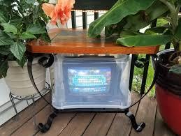 a super outdoor television setup