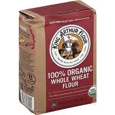 whole wheat flour unbleached organic