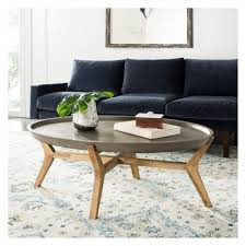 hadwin modern concrete oval dia coffee