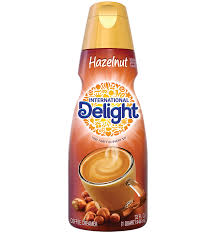 hazelnut non dairy coffee creamer