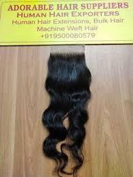 human hair manufacturer exporter supplier