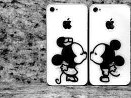 Jewels Phone Cover Mickey Mouse Minnie Mouse Iphone Cover Phone Phone Cover Mickey Mouse Minnie Mouse Phone Cover Stickers Decal Stickers Kiss Cute Disney Cover Iphone5s Phone Cover Iphone Couple Cases Iphone