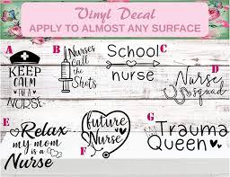 Nurse Decals