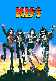 kiss band destroyer al poster and