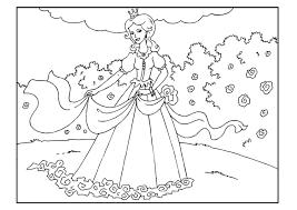 Kleurplaat Prinses In Tuin Gratis Kleurplaten Om Te Printen