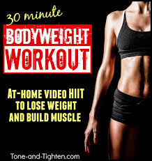 30 minute at home bodyweight cardio