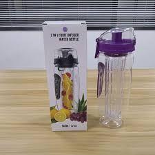 32 oz fruit infuser water bottle with