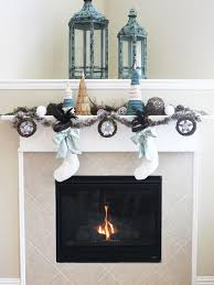 holiday house fireplace mantel design