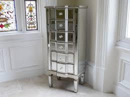 mirrored venetian glass chest of