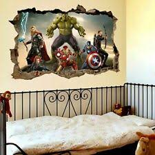 Avengers Wall Mural Products For Sale Ebay