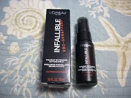 1 loreal infallible pro spray set