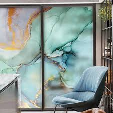 Custom Size Office Decorative Privacy Window Film Stained Marble Static Glass Sticker Kitchen Bedroom Move Door Home Decor Decal Y200416 Vinyl Window Stickers For Cars White Vinyl Window Decals From Long10 14 29
