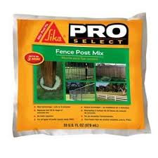 Sika Polyurethane Fence Post Mix Actual Net Contents 33 Fl Oz Lowes Com Fence Post Fence Diy Fence