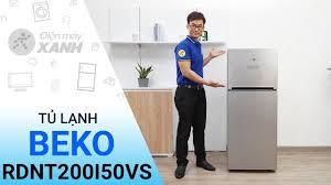 Tủ lạnh Beko Inverter 200 lít RDNT200I50VS giá rẻ, có trả góp 06/2020