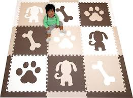 Animal Play Mat Floor Mats For Kids Softtiles