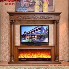 hand carved wood fireplace mantel