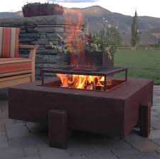 superb propane fire pits in patio