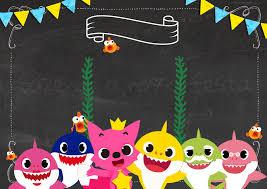 Baby Shark Invitaciones Para Imprimir Gratis Invitaciones Para Imprimir Invitaciones Para Imprimir Gratis