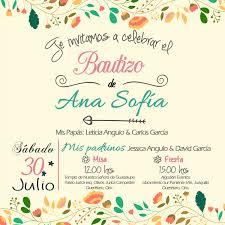 Bautizo Invitaciones Personalizadas Las Creamos A Partir Del Tema
