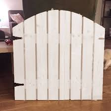 Picket Fence Baby Pet Gate Etsy In 2020 Pet Gate Picket Fence Gate Dog Fence