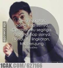 nice quote from raditya dika for fun only