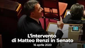 Matteo Renzi - In diretta dal Senato