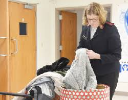 salvation army offers shelter during