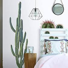Roommates Cactus Peel And Stick Giant Wall Decals Amazon Com