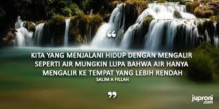 kata kata bijak jalani hidup seperti air mengalir quotes